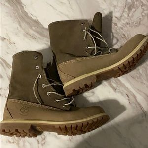Brand- New Timberland Fur Lined Boots